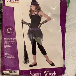 """Sassy witch"" Halloween costume"